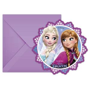 Procos Pozvánky Frozen - kvet 6 ks