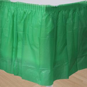 Amscan Banketová sukňa zelená 426 x 73 cm