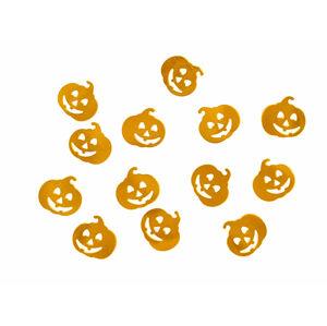 PartyDeco Metalické konfety Halloween