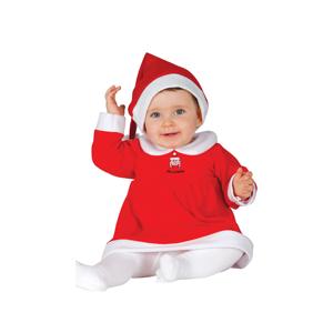 Guirca Detský kostým Slečna Clausová Veľkosť.: 12 - 24 mesiacov