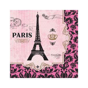 Amscan Servítky Deň v Paríži 16 ks