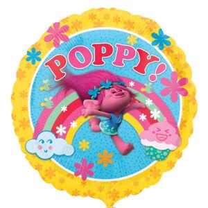 Amscan Fóliový balón Poppy - Trollovia 43 cm
