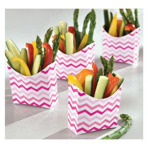 Amscan Papierové boxy ružové 24 ks