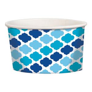 Amscan Papierové košíčky modré 12 ks