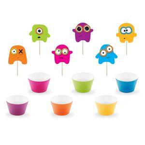 PartyDeco Dekorácie na cupcakes Monster
