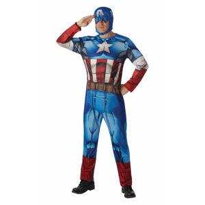 Rubies Kostým Captain America Classic Veľkosť - dospelý: STD