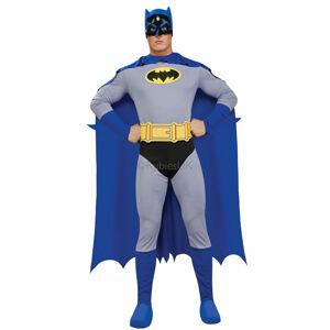 Rubies Kostým Batman - modrý Veľkosť - dospelý: S