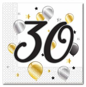 Procos Servítky s číslom 30 - milestone 20 ks