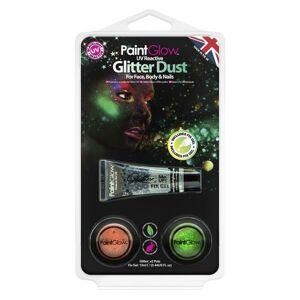 PGW Set glitrových práškov - UV reaktívne  OG