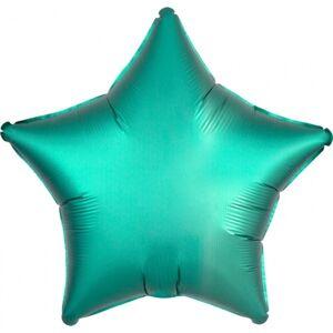 Amscan Fóliový balón Hviezda - Tyrkysová 43 cm
