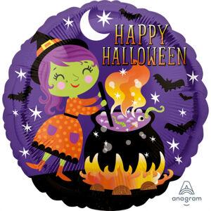 Amscan Halloween - Čarodejnica & kotlík