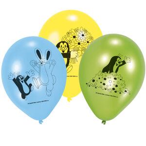 Amscan 6 latexových balónov - Krtko