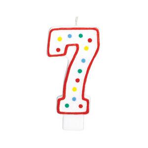 Amscan Veľká narodeninová sviečka 7