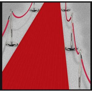 Amscan Červený koberec Hollywood 450 x 61 cm