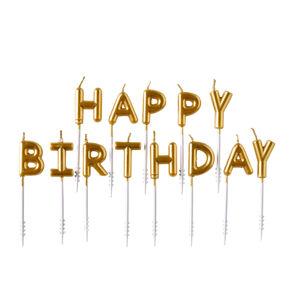 Amscan Tortové sviečky happy birthday