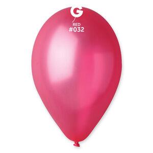 Gemar Balónik metalický červený 26 cm