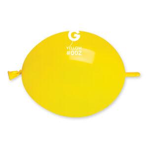 Gemar Spojovací balónik žltý 16 cm