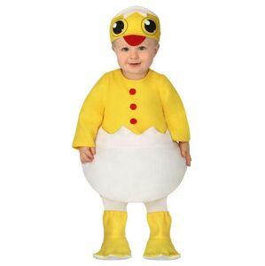 Guirca Detský kostým pre najmenších - Kuriatko Veľkosť najmenší: 12 - 24 mesiacov