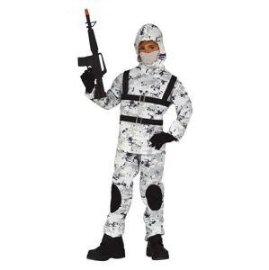 Guirca Detský kostým - Arktický vojak Veľkosť - deti: M