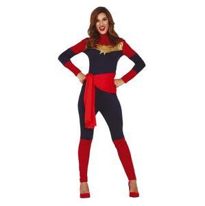Guirca Dámsky kostým - Kapitán Marvel Veľkosť - dospelý: L
