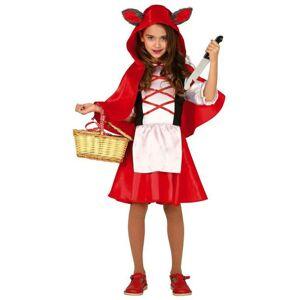 Guirca Detský kostým - Červená Čiapočka Veľkosť - dospelý: L