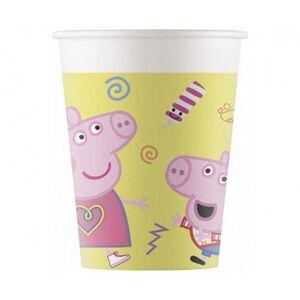 Procos Papierové poháre - Peppa Pig 8 ks