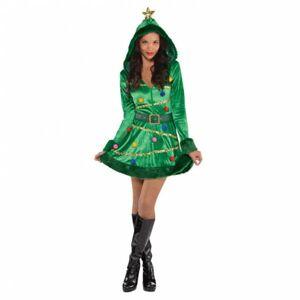 Amscan Dámsky kostým - Vianočný stromček Veľkosť - Dospelí: S