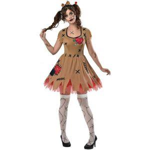 Amscan Dámsky kostým - Voodoo bábika Veľkosť - dospelý: L
