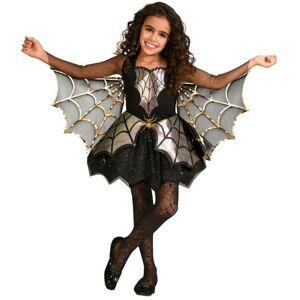 Amscan Detský kostým - Pavúk dievča Veľkosť - deti: M