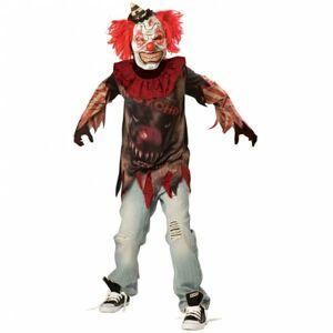 Amscan Detský kostým - Nahnevaný klaun Veľkosť - deti: L