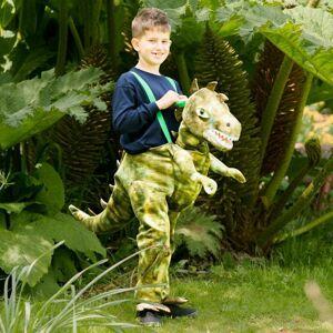 Amscan Detský kostým - Jazdec na dinosaurovi Veľkosť - deti: M