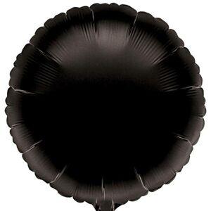 Amscan Fóliový balón - Čierny Kruh