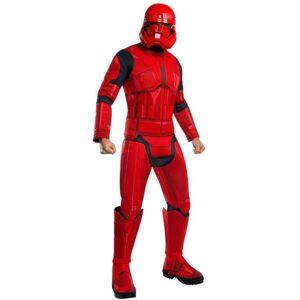 Rubies Pánsky deluxe kostým - Red Stormtrooper (Star wars) Veľkosť - dospelý: STD