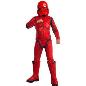 Rubies Detsky deluxe kostým - Red Stormtrooper (Star wars) Veľkosť - deti: S