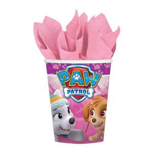 Amscan Poháre Tlapková hliadka (Paw Patrol) ružové