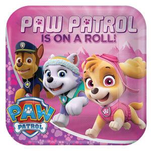 Amscan Taniere Tlapková hliadka (Paw Patrol) ružové 8 ks