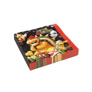 Amscan Servítky - Super Mario 33 x 33 cm 20 ks