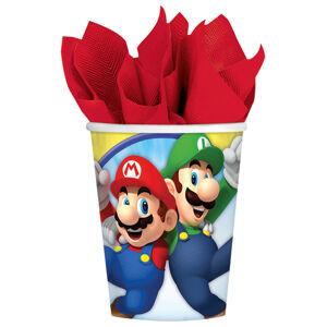 Amscan Poháre - Super Mario 8 ks