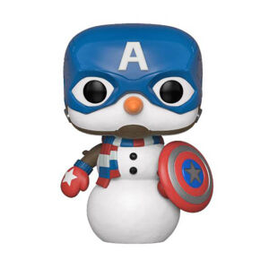 Figúrka Funko POP Marvel Holiday - Capt America