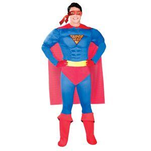 Guirca Kostým Super hrdina Veľkosť - dospelý: XL