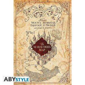 ABY style Plagát Harry Potter - Mapa záškodníkov