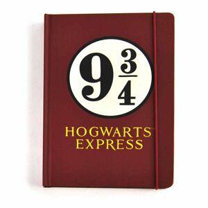 Half Moon Bay Zápisník Harry Potter - Platform 9 3/4