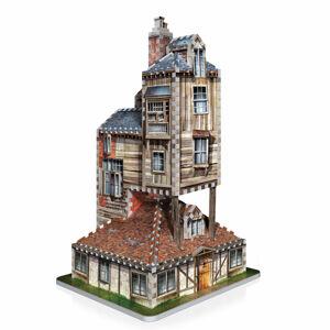 3D Wrebbit Harry Potter 3D Puzzle - Rodinný dom Weasleyovcov