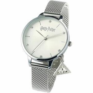 Carat Shop Strieborný Deathly Hallow Charm  hodinky s kryštalámi Swarovski - Harry Potter