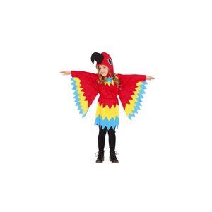 Guirca Detský kostým - Papagáj Veľkosť - deti: L