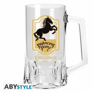 ABY style Pivný pohár Prancing Pony - Pán Prsteňov 500 ml