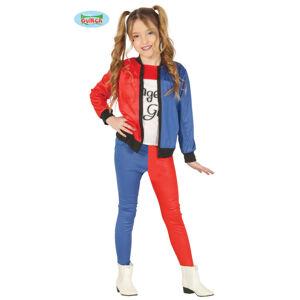 Guirca Harley Quinn - detský kostým Veľkosť - deti: XL