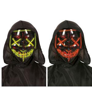 Guirca Svetelná maska LED Purge zelená, červená