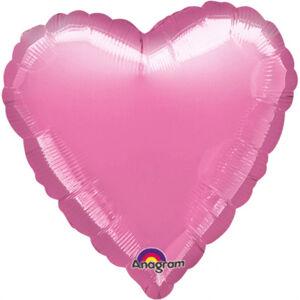 Amscan Fóliový balón Srdce levanduľa