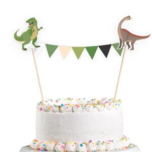 Amscan Ozdoba na tortu - Šťastný Dinosaurus